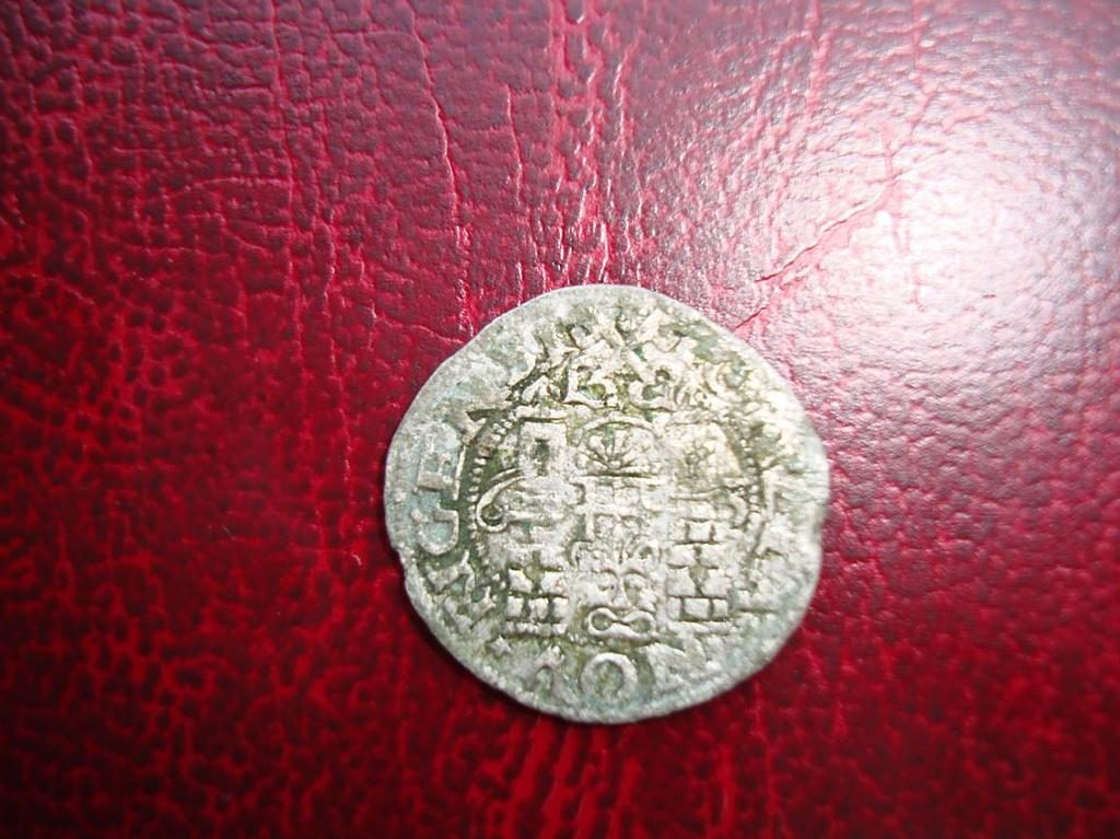 Рижский грош 1563 года
