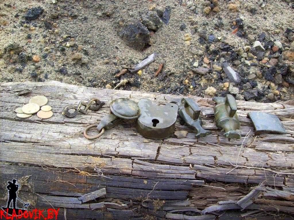 Коп по старине, вывозной грунт