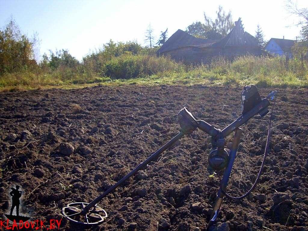Коп на фермерском поле